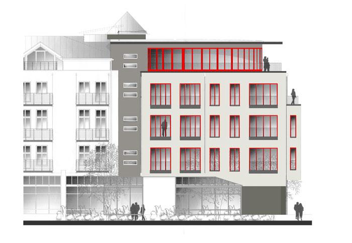Ansicht Architektur architektur dipl ing martina gross georgi